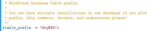 Beschrijving: db prefix image